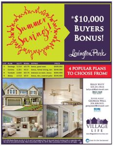 New prices on new construction. Come visit me at the model home.